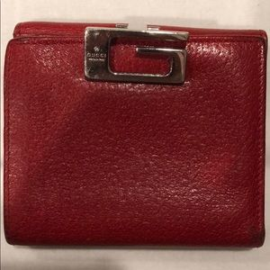 AUTHENTIC GUCCI RED WALLET